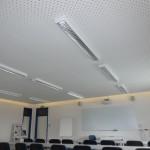 LED Deckenbeleuchtung und angehängte Decke - Foto Enrico Jentsch