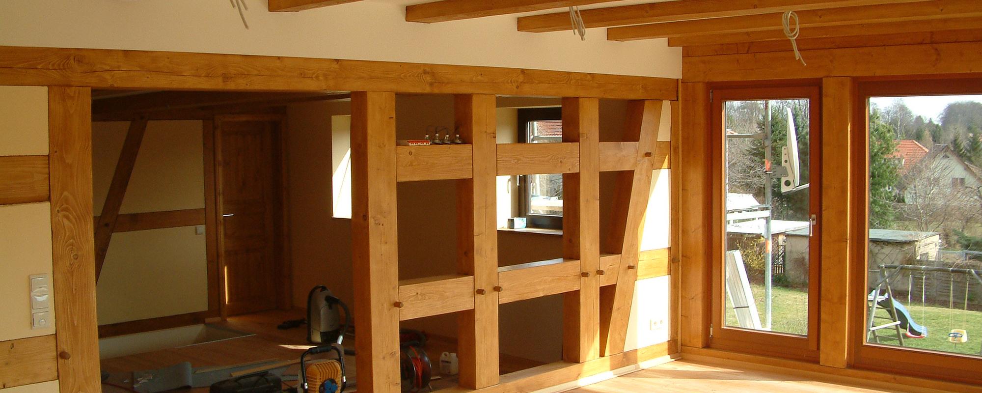 innenausbau enrico jentsch nat rlich sch ner wohnen mit holz. Black Bedroom Furniture Sets. Home Design Ideas